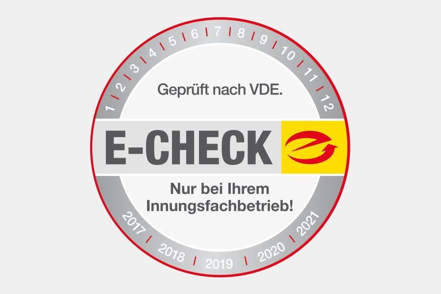 E-Check breit